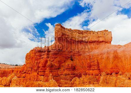 The Bryce Canyon National Park, Utah, Usa