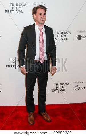 NEW YORK, NY - APRIL 20: T.R. Knight attends the 'Genius' Premiere during the 2017 Tribeca Film Festival at BMCC Tribeca PAC on April 20, 2017 in New York City.