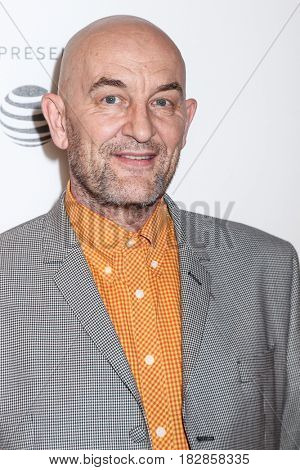 NEW YORK, NY - APRIL 20: Ralph Brown attends 'Genius' Premiere during the 2017 Tribeca Film Festival at BMCC Tribeca PAC on April 20, 2017 in New York City.