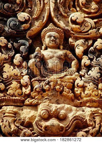 Angkor Wat - Banteay Srei Temple Nb. 38