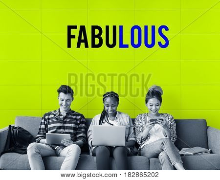 Awesome Fabulous Passion Friendship Group poster