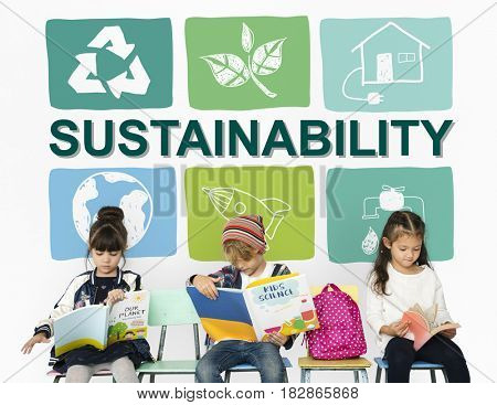 Sustainability Ecology Save Environment Concept