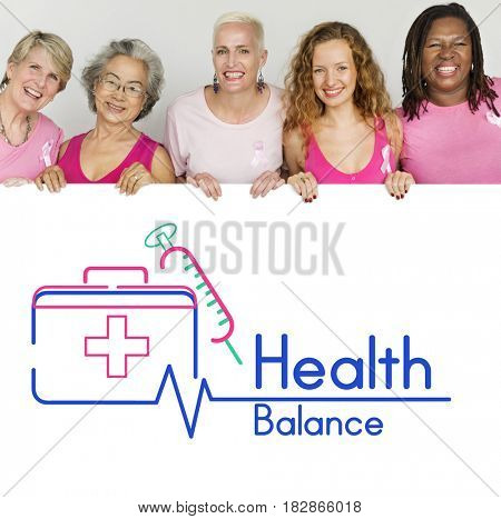 Healthy Life Balance Safety Concept