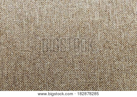 Natural fabric linen texture for design sackcloth textured. Brown canvas background. Cotton.