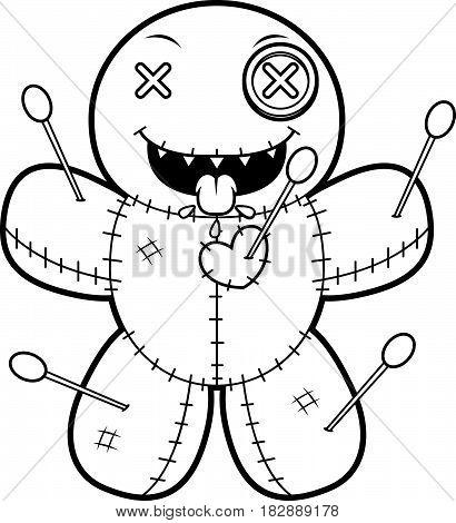 Hungry Cartoon Voodoo Doll