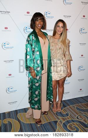 LOS ANGELES - APR 20:  Kelly Rowland, Jessica Lowndes at the 2017 Women's Guild Cedars-Sinai Annual Spring Luncheon at the Beverly Wilshire Hotel on April 20, 2017 in Beverly Hills, CA