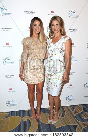 LOS ANGELES - APR 20:  Jessica Lowndes, Natalie Morales at the 2017 Women's Guild Cedars-Sinai Annual Spring Luncheon at the Beverly Wilshire Hotel on April 20, 2017 in Beverly Hills, CA