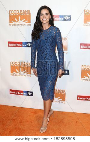 NEW YORK-APR 19: Katie Lee attends the Food Bank for New York City's Can-Do Awards Dinner 2017 at Cipriani's on April 19, 2017 in New York City.