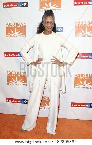 NEW YORK-APR 19: Chef Carla Hall attends the Food Bank for New York City's Can-Do Awards Dinner 2017 at Cipriani's on April 19, 2017 in New York City.