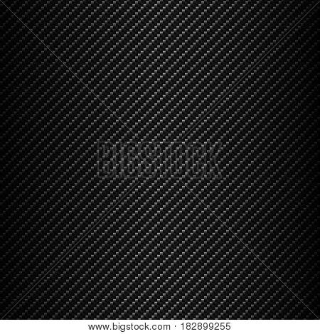 Carbon fiber  seamless background vector metallic grid