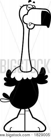 Angry Cartoon Vulture