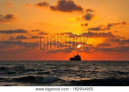 Mediterranean Coast Israel