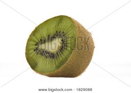 Half A Kiwi Fruit