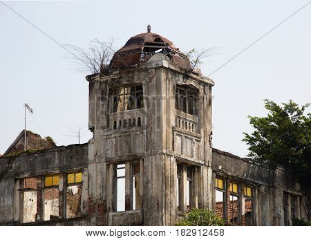 Dutch colonial building in Jakarta