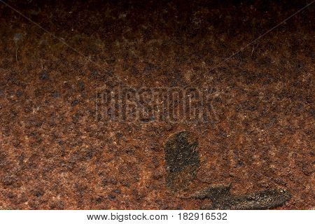 Old Rustic Metal Background Or Texture Closeup.