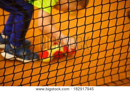 Tennis Court, Net Tennis, Yellow Tennis