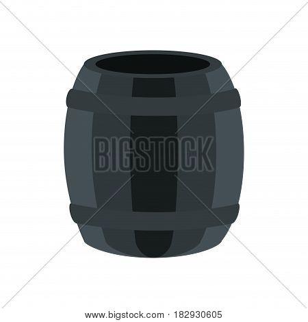 barrel icon over white background. vector illustration