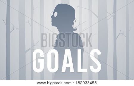 Goals Aspiration Aim Target Motivation Vision