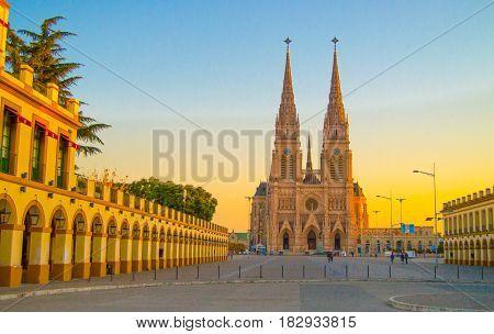 Basilica de la Virgen de Lujan Buenos Aires