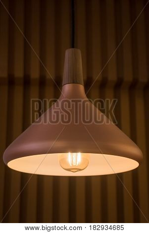 Metro Retro Luxury Light Lamp stock photo