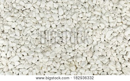 Background of white stones interior design in the house.
