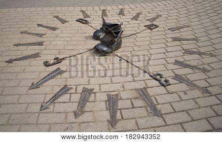 ZELENOGORSK, RUSSIA - JUNE 01, 2014: The sculpture