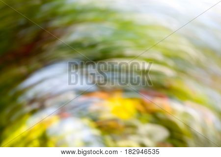 Abstract blurred background. Colorful speed and movement light vivid color. photograph from nature.
