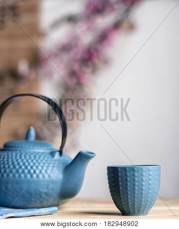 Tea Time Zen Way, Asian Aesthetics.