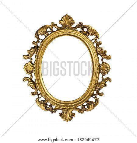 Gilded wooden frame for picture  ancien, tvintage