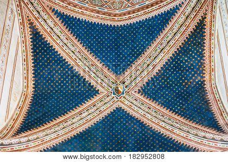Ceiling In Basilica Di San Zeno In Verona City
