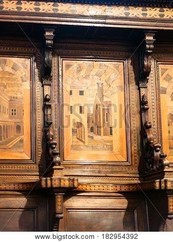 Chairs In Chiesa Di Santa Corona In Vicenca