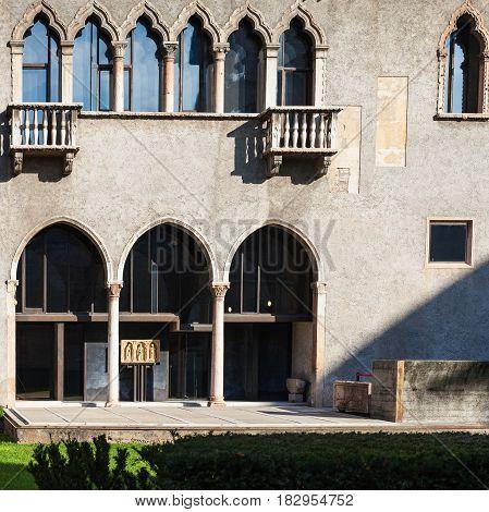 Museum Bulding Of Castelvecchio (scaliger) Castel