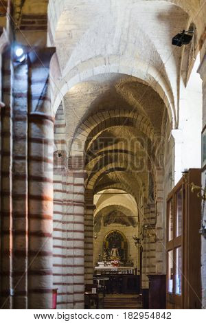 Apse Of Chiesa Di San Lorenzo In Verona City