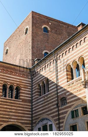 Palazzo Della Ragione In Verona City