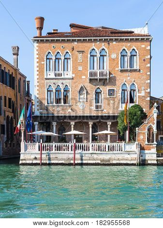 Palazzetto Stern On Grand Canal In Venice