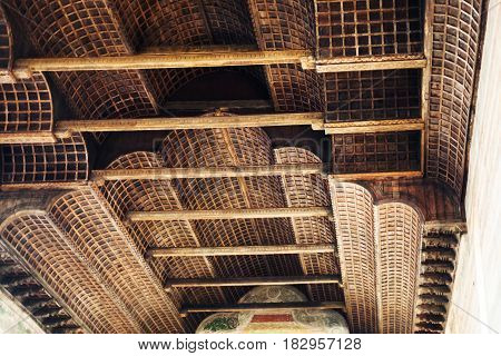 Ceiling In Church Of The Eremitani In Padua