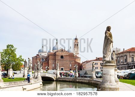 View Of Basilica Di Santa Giustina From Prato