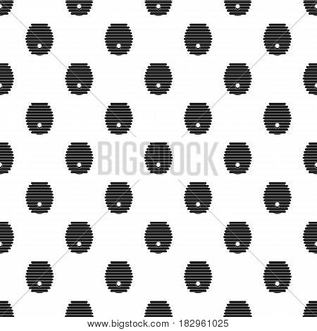 Beehive pattern seamless in simple style vector illustration