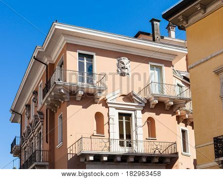 Urban House In Vicenza City In Spring