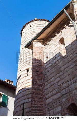 View Of Wall And Tower Santo Lorenzo Church