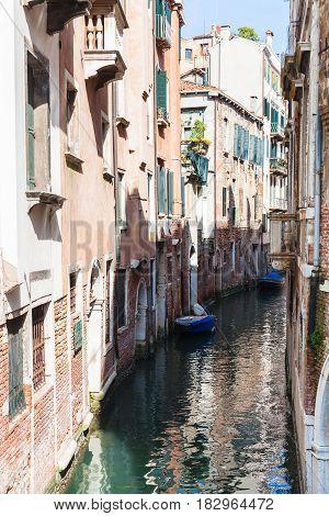 Canal Rio De Santa Maria Formosa In Venice