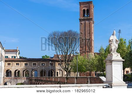 View Of Campanile Di San Domenico Mantua City