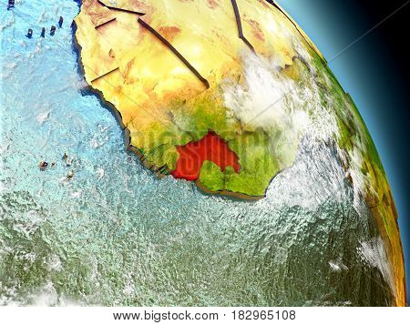Guinea From Space