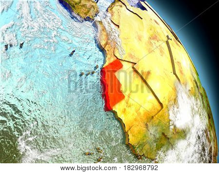 Western Sahara From Space