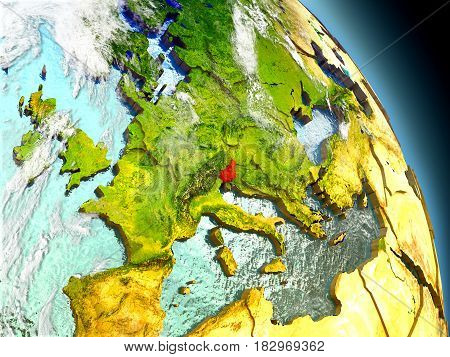 Slovenia From Space