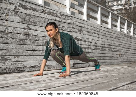 Fitness Sporty Girl