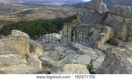 The incredible and unparalleled beauty of Bulgarian nature - the Megalithic Sanctuary of Perperikon