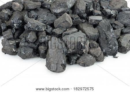 Pieces of coal