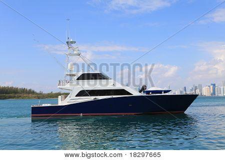 Fishing Yacht.