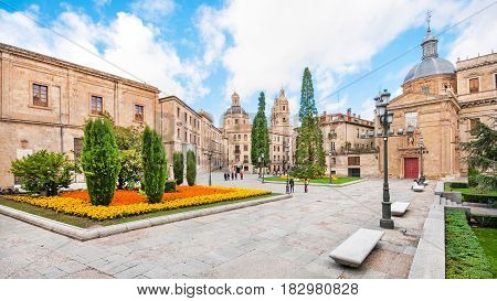 City Centre Of Salamanca, Castilla Y Leon Region, Spain